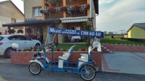 Guest house Mijic quadricycle