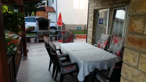 Guest house Mijic terrace 2